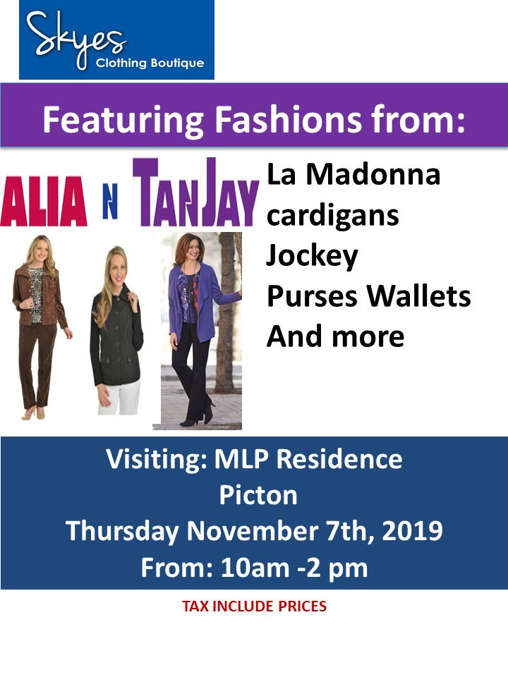 Alia & TanJay Clothing Sale